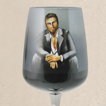Sebastian wine glass by Cabana Boys Inc