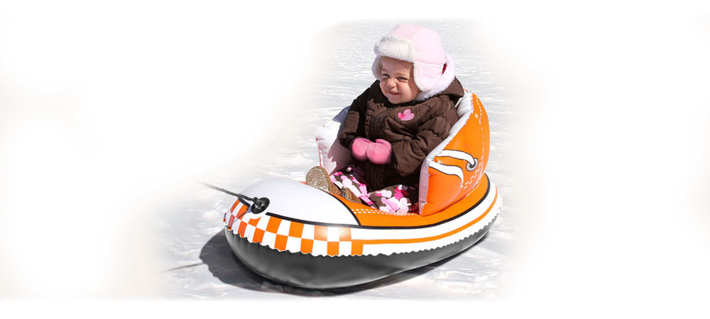 Snow Shoe Infant Inflatable Snow Sled