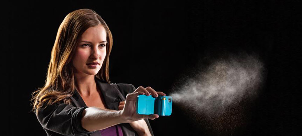Spraytect Pepper Spray Phone Case – turquoise