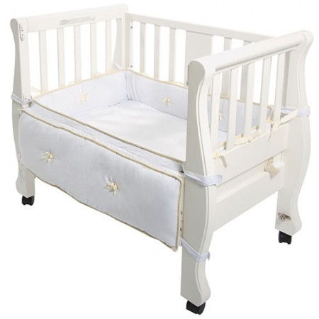 SLEIGH BED CO-SLEEPER® – white 8200W