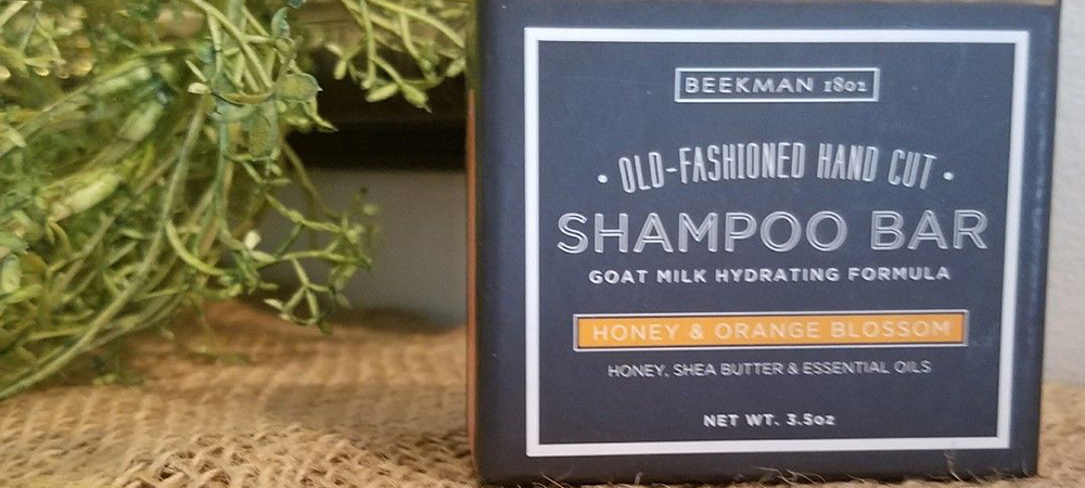 Honey & Orange Blossom Goat Milk Shampoo Bar
