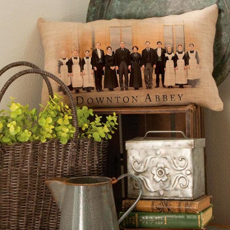 DOWNTON CAST PILLOW COVER
