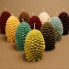 Woodland Pine Cone Candles