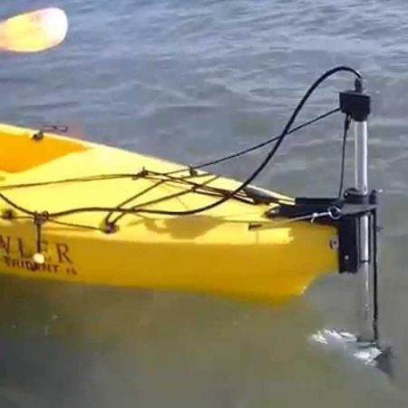 The Skimmer Kayak Motor Kit