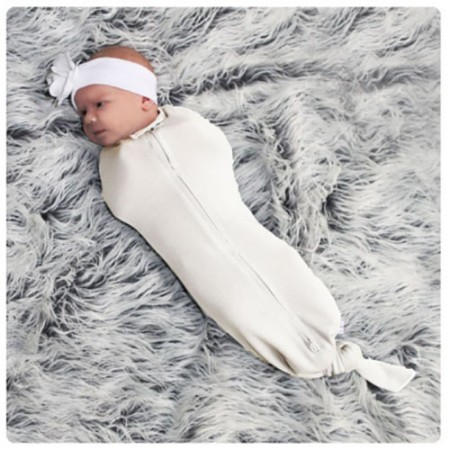 Merino Mod Swaddle by Woombie