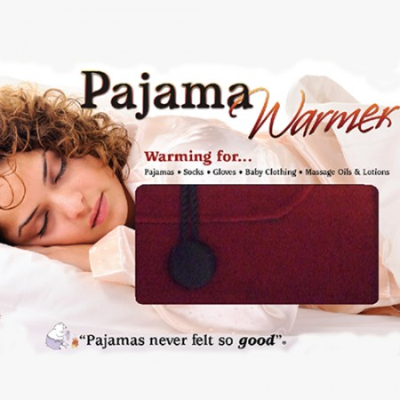 Wine Velvet Pajama Warmer