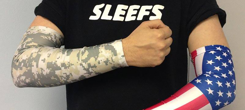 USA AMERICA ARM SLEEVES